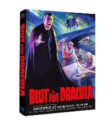 Blut für Dracula (Limited Mediabook, Cover B) (1966) [Blu-ray]