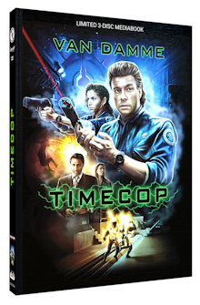 Timecop (Limited Mediabook, Blu-ray+DVD, Cover A) (1994) [Blu-ray]