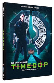 Timecop (Limited Mediabook, Blu-ray+DVD, Cover B) (1994) [Blu-ray]