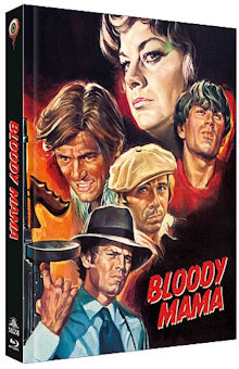 Bloody Mama (Limited Mediabook, Blu-ray+DVD, Cover B) (1970) [Blu-ray]