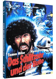 Das Schlitzohr und der Bulle (Limited Mediabook, Blu-ray+DVD, Cover A) (1976) [FSK 18] [Blu-ray]