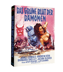Das grüne Blut der Dämonen (Limited Mediabook, Cover B) (1967) [Blu-ray]