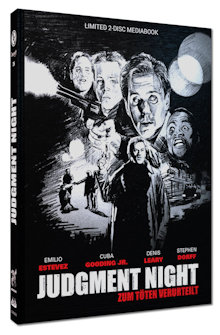 Judgment Night - Zum Töten verurteilt (Limited Mediabook, Blu-ray+DVD, Cover D) (1993) [Blu-ray]