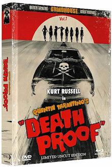 Death Proof - Todsicher (Limited Wattiertes Mediabook, Blu-ray+DVD) (2007) [Blu-ray]