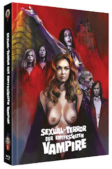 Sexual-Terror der entfesselten Vampire (Limited Mediabook, Blu-ray+DVD, Cover C) (1971) [FSK 18] [Blu-ray]