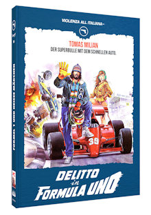 Formel 1 und heiße Mädchen (Limited Mediabook, Blu-ray+DVD, Cover B) (1984) [FSK 18] [Blu-ray]