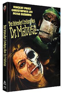 Die lebenden Leichen des Dr. Mabuse (Limited Mediabook, Blu-ray+DVD, Cover B) (1970) [Blu-ray]