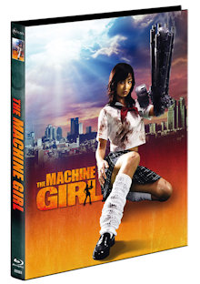 The Machine Girl (Limited Mediabook, Blu-ray+DVD, Cover A) (2008) [FSK 18] [Blu-ray]