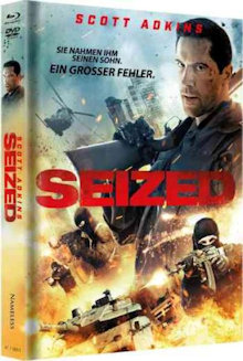 Seized - Gekidnappt (Limited Uncut Mediabook, Blu-ray+DVD, Cover A) (2020) [FSK 18] [Blu-ray]
