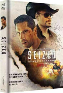 Seized - Gekidnappt (Limited Uncut Mediabook, Blu-ray+DVD, Cover B) (2020) [FSK 18] [Blu-ray]