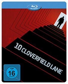 10 Cloverfield Lane (Limited Steelbook) (2016) [Blu-ray]