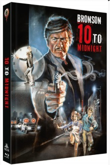 10 to Midnight - Ein Mann wie Dynamit (Limited Mediabook, Blu-ray+DVD, Cover A) (1983) [Blu-ray]