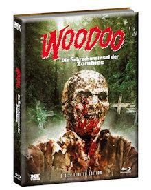 Woodoo - Die Schreckensinsel der Zombies (Limited Wattiertes Mediabook, Blu-ray+DVD, Cover A) (1979) [FSK 18] [Blu-ray]