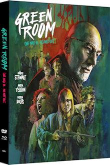 Green Room (Limited Mediabook, Blu-ray+DVD, Cover A) (2015) [FSK 18] [Blu-ray]