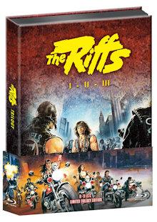 The Riffs 1-3 (Limited Wattiertes Mediabook, 6 Discs, Blu-ray+DVD) [FSK 18] [Blu-ray]