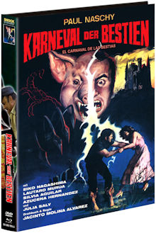 Karneval der Bestien (Limited Mediabook, Blu-ray+DVD, Cover A) (1980) [FSK 18] [Blu-ray]
