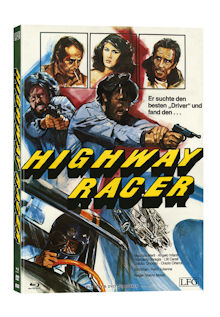 Poliziotto Sprint - Highway Racer (Limited Mediabook, Blu-ray+DVD, Cover B) (1977) [FSK 18] [Blu-ray]