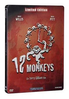 12 Monkeys (Remastered, Limited Edition Steelbook) (1995)