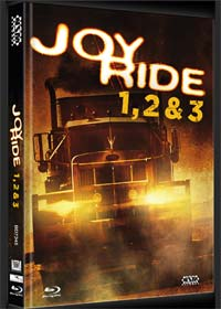 Joy Ride 1-3 (3 Discs Limited Mediabook, Cover C) [FSK 18] [Blu-ray]