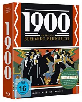 1900 (Neunzehnhundert) (Limited Collector's Edition, 3 Blu-ray's+CD-Soundtrack) (1976) [Blu-ray]