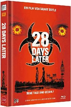 28 Days Later (Limited Mediabook, Blu-ray+DVD, Cover A) (2002) [FSK 18] [Blu-ray]