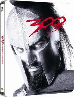 300 (Premium Collection Steelbook) (2006) [UK Import mit dt. Ton] [Blu-ray]