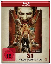 31 - A Rob Zombie Film (Uncut) (2016) [FSK 18] [Blu-ray]