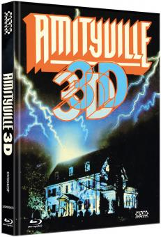Amityville Horror 3 (Limited Mediabook, Blu-ray+DVD, Cover F) (1983) [FSK 18] [Blu-ray]