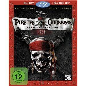 Pirates of the Caribbean - Fremde Gezeiten (Fluch der Karibik 4) (3D Blu-ray + 2D Blu-ray) (2011) [3D Blu-ray]