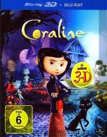Coraline (2D- + 3D-Version) (2009) [3D Blu-ray]