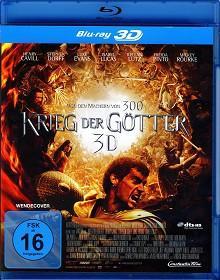 Krieg der Götter (2011) [3D Blu-ray]