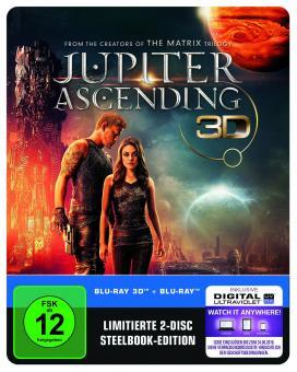 Jupiter Ascending (2 Disc Limited Steelbook) (2015) [3D Blu-ray]