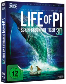 Life of Pi - Schiffbruch mit Tiger (3 Disc Collector's Edition) (2012) [3D Blu-ray]