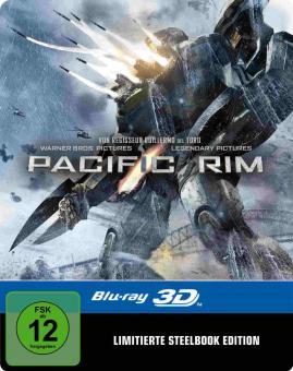 Pacific Rim (+Blu-ray) (Limited Steelbook) (2013) [3D Blu-ray]