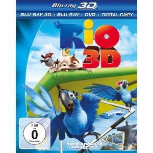 Rio (3D Blu-ray+Blu-ray+DVD & Digital Copy) (2011) [3D Blu-ray]