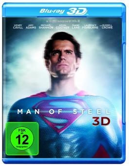 Man of Steel (2013) [3D Blu-ray]