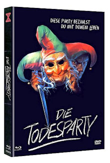 Die Todesparty (Limited Mediabook, Blu-ray+DVD, Cover B) (1986) [FSK 18] [Blu-ray]