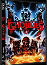 Ghoulies 1 (Limited Mediabook, Blu-ray+DVD, Cover B) (1985) [FSK 18] [Blu-ray]