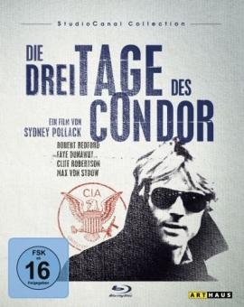 Die 3 Tage des Condor / Studio Canal Collection (1975) [Blu-ray]
