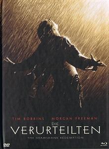 Die Verurteilten (Limited Mediabook, Blu-ray+DVD, Cover A) (1994) [Blu-ray]