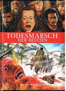 Todesmarsch der Bestien (Limited Mediabook, Blu-ray+DVD) (1972) [FSK 18] [Blu-ray]