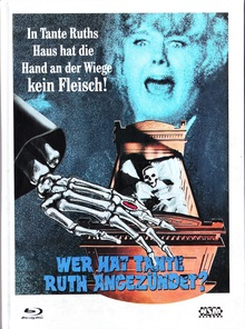 Wer hat Tante Ruth angezündet? (Limited Mediabook, Blu-ray+DVD, Cover D) (1971) [Blu-ray]