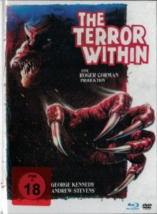 The Terror Within (Limited Mediabook, Blu-ray+DVD) (1989) [FSK 18] [Blu-ray]