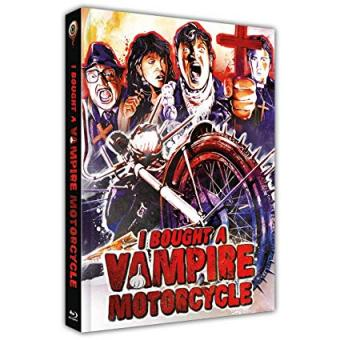 I bought a Vampire Motorcycle (Limited Mediabook, Blu-ray+DVD, Cover D) (1990) [FSK 18] [Blu-ray]