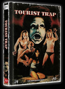 Tourist Trap (4 Disc Limited Mediabook, Blu-ray+DVD, Cover B) (1979) [FSK 18] [Blu-ray]