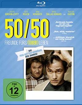 50/50 - Freunde fürs (Über)Leben (2011) [Blu-ray]
