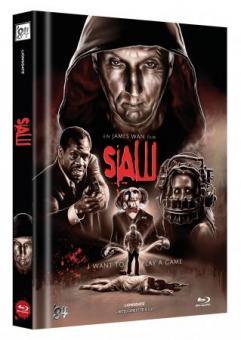 Saw (Limited Mediabook, Cover B) (2004) [FSK 18] [Blu-ray]