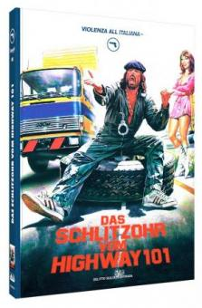 Das Schlitzohr vom Highway 101 (Limited Mediabook, Blu-ray+DVD, Cover A) (1982) [FSK 18] [Blu-ray]
