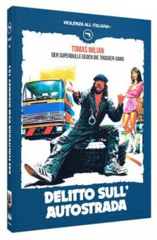 Das Schlitzohr vom Highway 101 (Limited Mediabook, Blu-ray+DVD, Cover B) (1982) [FSK 18] [Blu-ray]