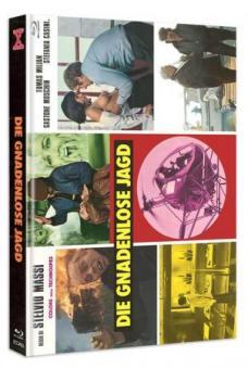 Die Gnadenlose Jagd (Der Einzelkämpfer) (Limited Mediabook, Blu-ray+DVD, Cover C) (1974) [FSK 18] [Blu-ray]